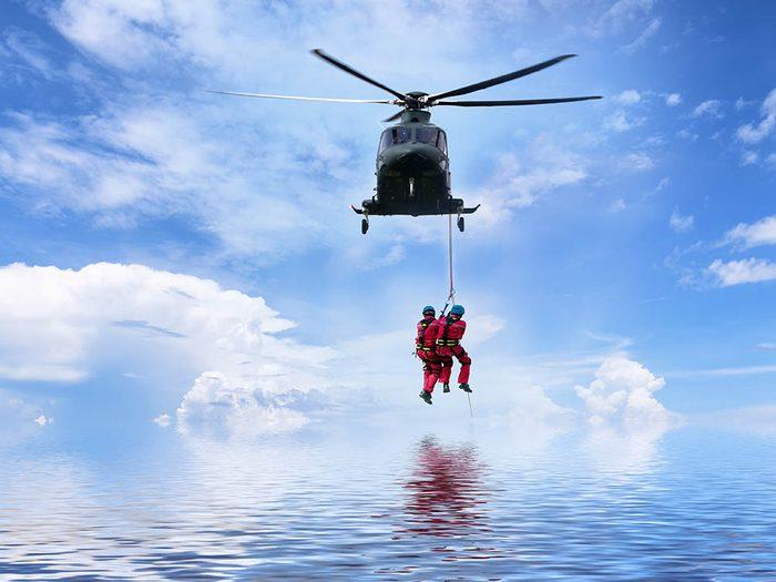 En cas de catastrophe, ayez les bons réflexes.