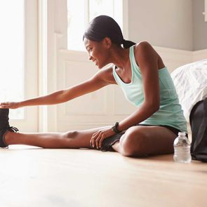 Un étirement peut endommager les tissus musculaires.