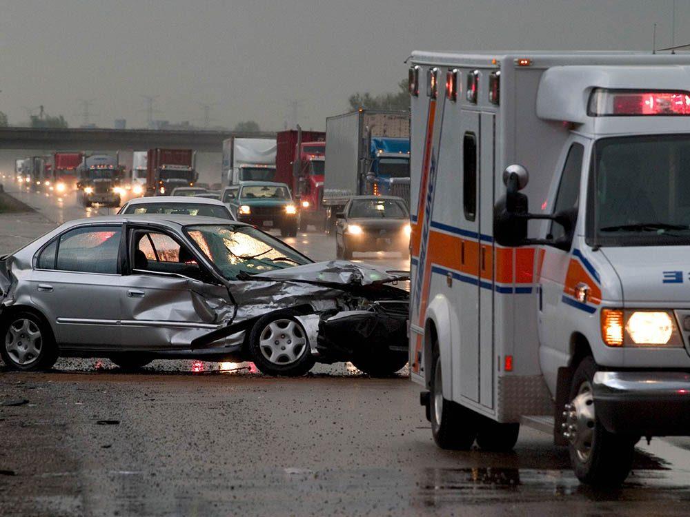 Il est inutile de s'excuser d'être impliqué(e) dans un accident de voiture.