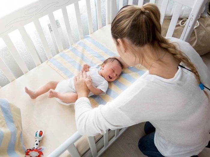 Il est inutile de s'excuser de ne pas raffoler des bébés.