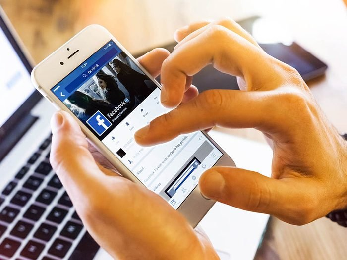Il est inutile de s'excuser de partager la nouvelle de votre promotion sur Facebook.