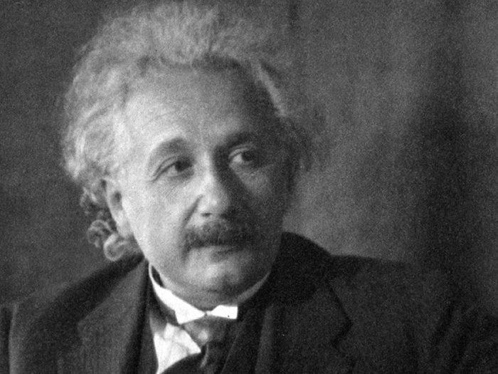 Fait insolite: L'anagramme d'Albert Einstein.