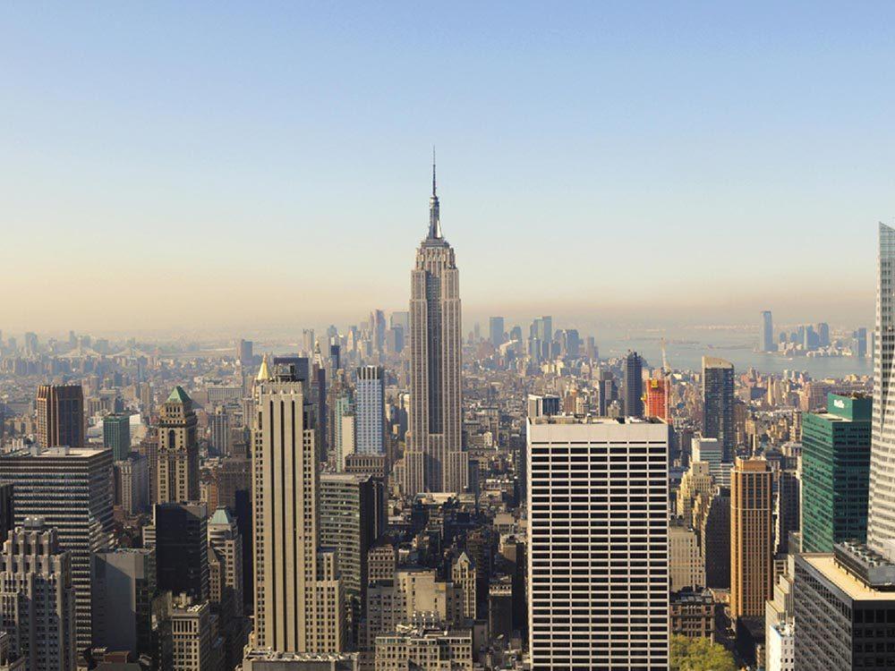 Fait insolite: L'Empire State Building possède son propre code postal.