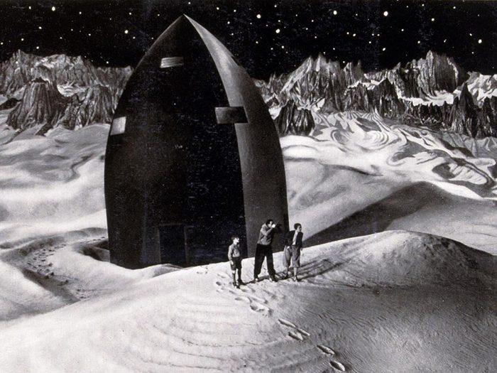 Fait insolite: La NASA utilise le compte à rebours en raison d'un film de science-fiction.