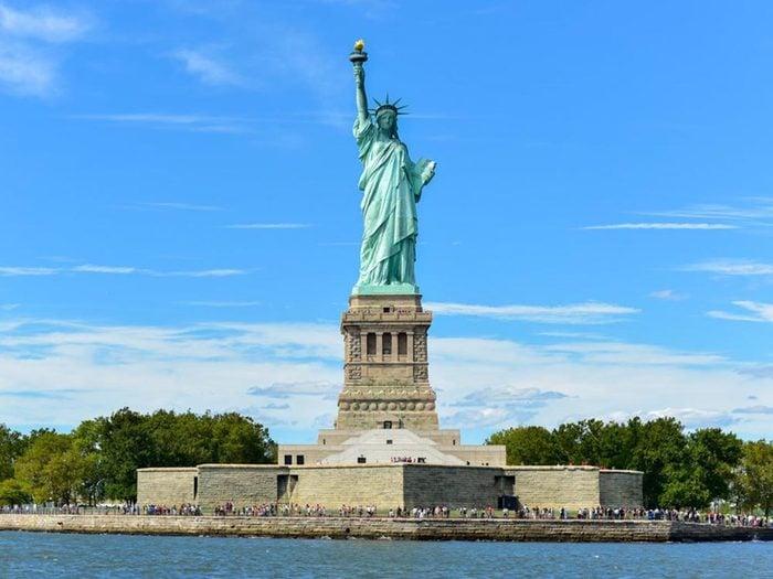Fait insolite: la Statue de la Liberté était un phare.