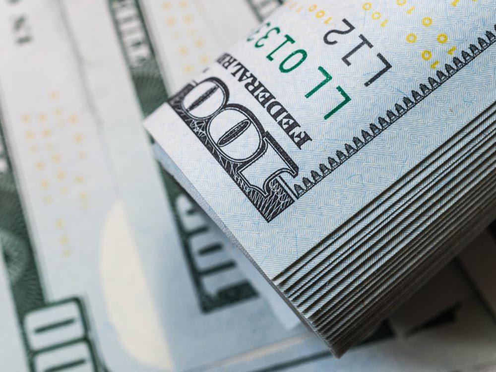 Fait insolite: Le Trésor américain a déjà imprimé des billets de 100 000$.