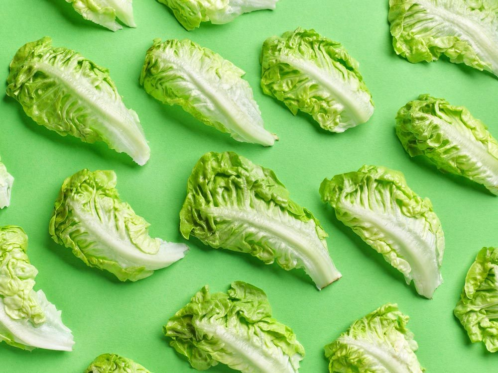 Fruits et légumes frais: conservez votre laitue dans du papier essuie-tout.