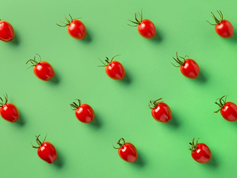 Fruits et légumes frais: ne rangez pas les tomates au réfrigérateur.