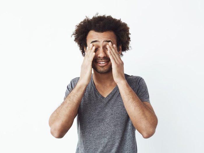 L'hypoglycémie peut conduire à un sentiment de confusion.