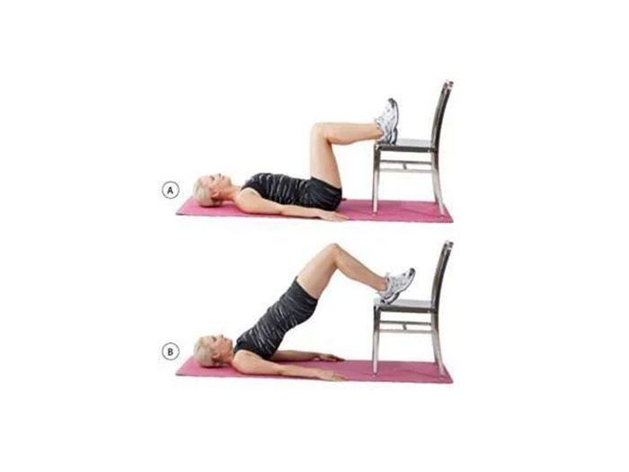 Le lever des hanches pour se raffermir et maigrir.