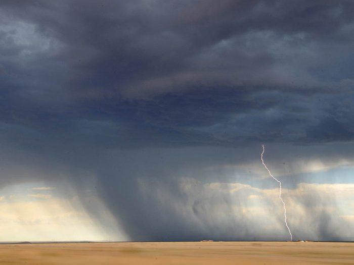 Météo: les tornades sont impossibles à prévoir à l'avance.