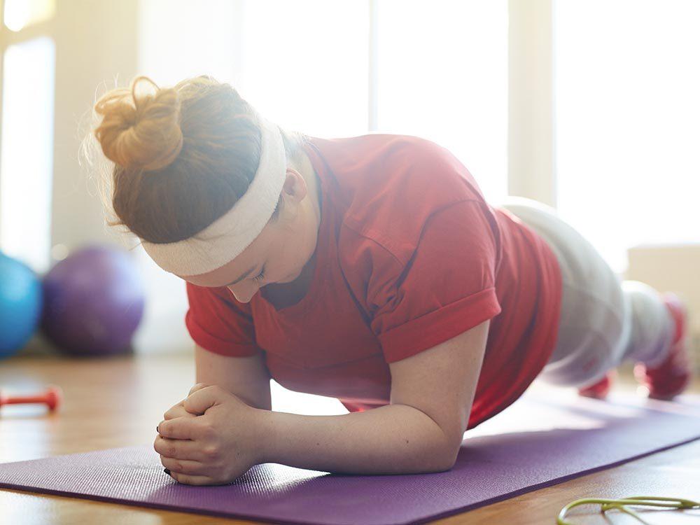 Même sans perte de poids, l'exercice est bon pour la santé.