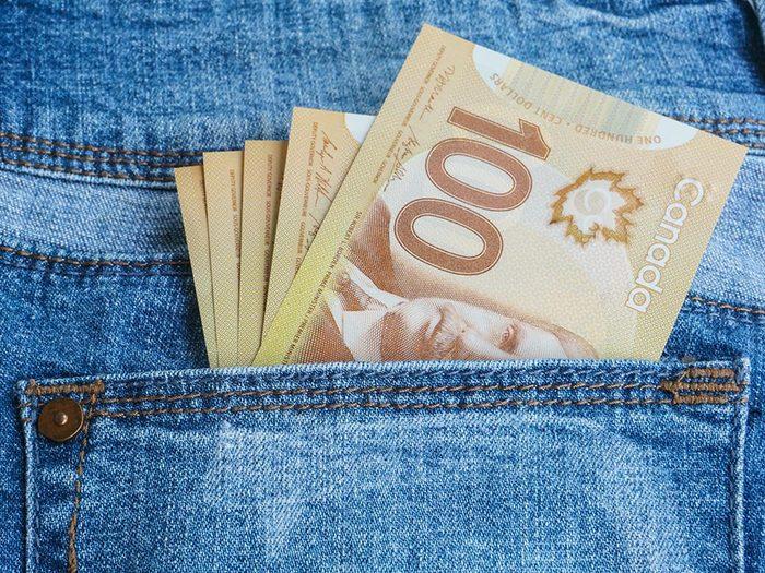 Chrométophobie: la peur de l'argent, de la richesse.