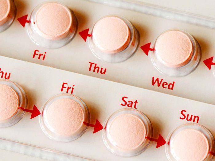 Quel est le taux d'efficacité de la pilule contraceptive?