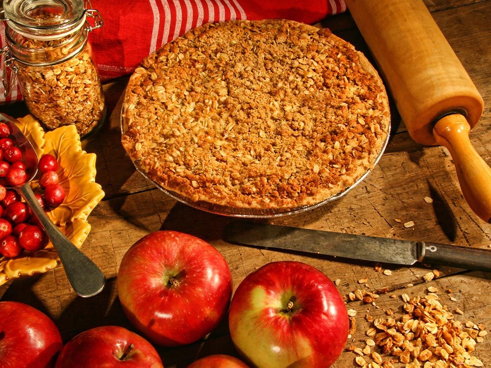 Recettes avec des pommes: savourez cette recette de croustade.