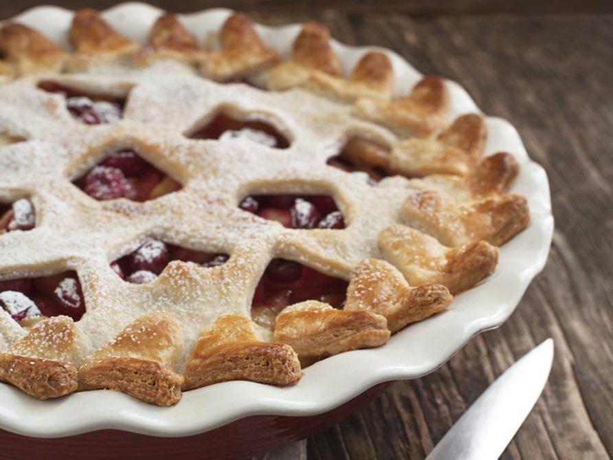 Recettes avec des pommes: essayez la meilleure tarte au pommes et canneberges.