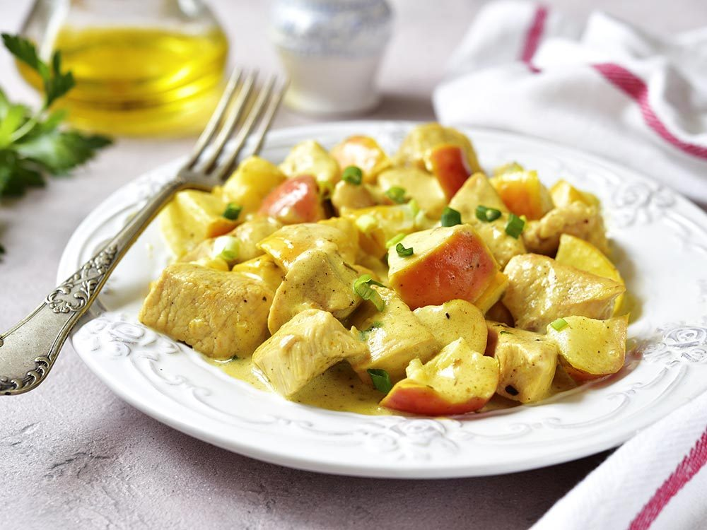 Recettes avec des pommes: essayez le poulet au cidre