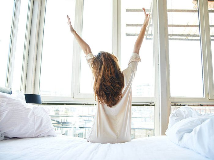 Renouer avec la nature améliorera votre sommeil.