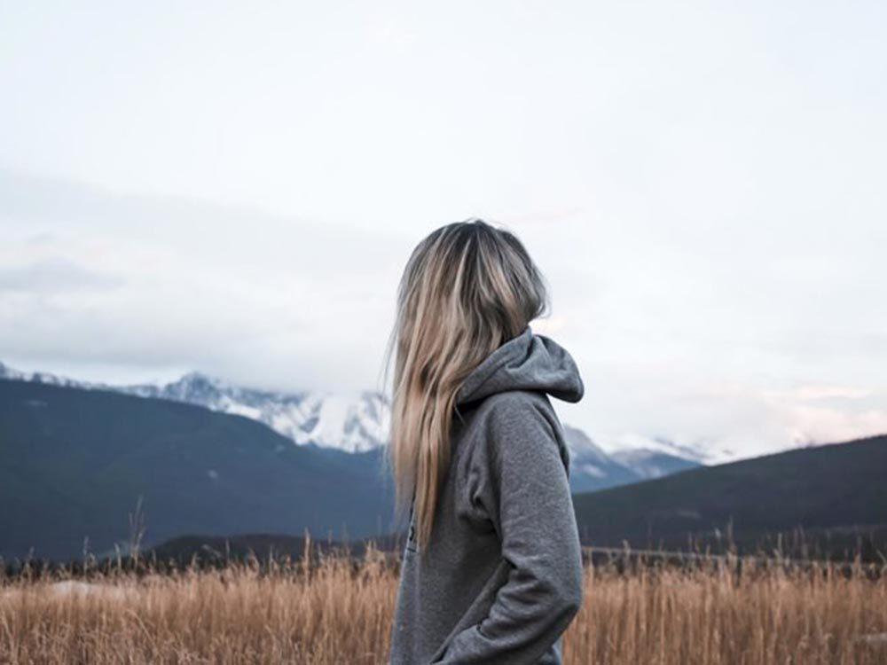 Pour renouer avec la nature: respirez le grand air.