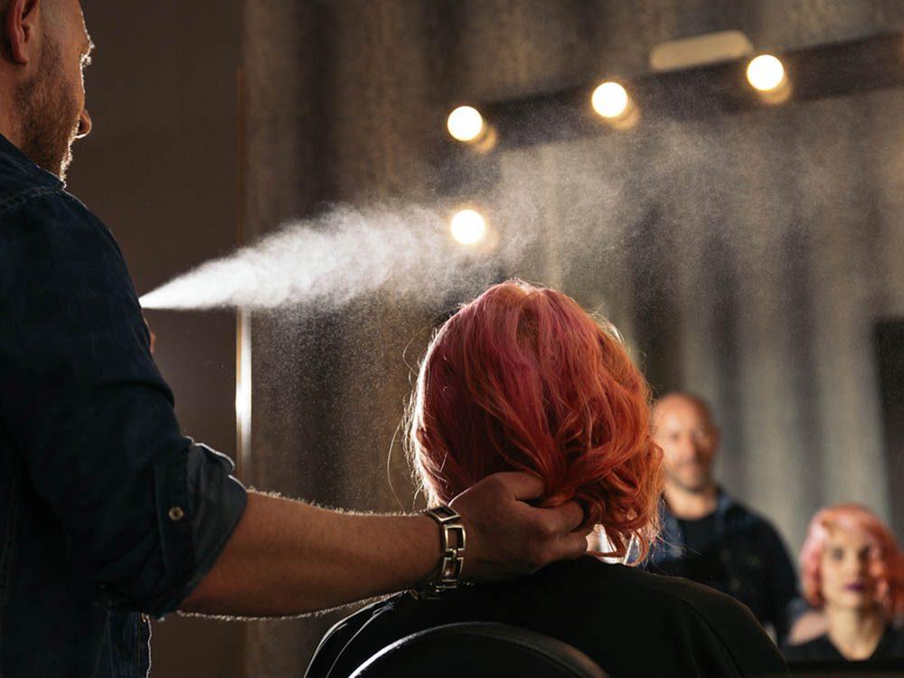 Les risques de développer un cancer sont plus élevés si vous êtes coiffeur.