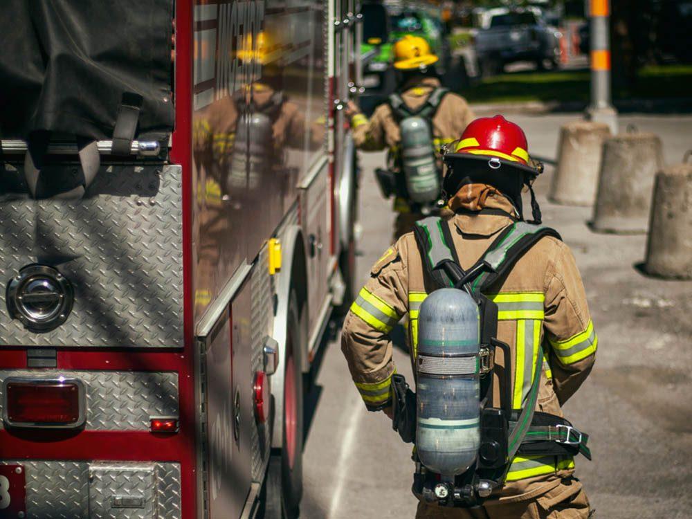 Les risques de développer un cancer sont plus élevés si vous êtes pompier.