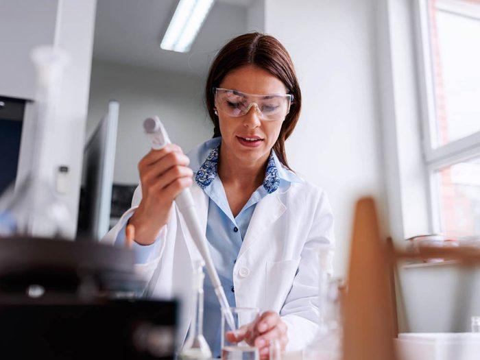 Les risques de développer un cancer sont plus élevés si vous êtes technicien de laboratoire.