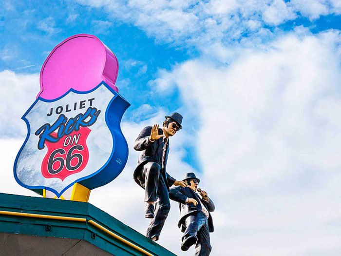 A voir sur la Route 66: Joliet& Wilmington