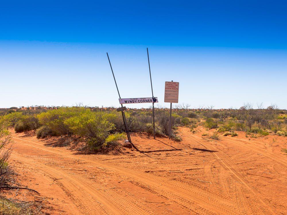 L'une des routes les plus dangereuses du monde se trouve en Australie.