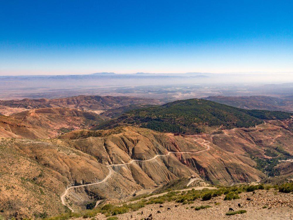 L'une des routes les plus dangereuses du monde se trouve au Maroc.
