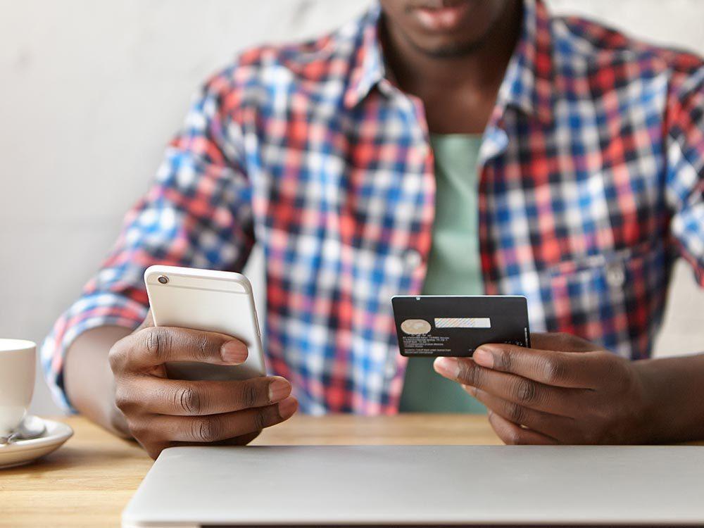Votre téléphone intelligent conserve vos mots de passe.