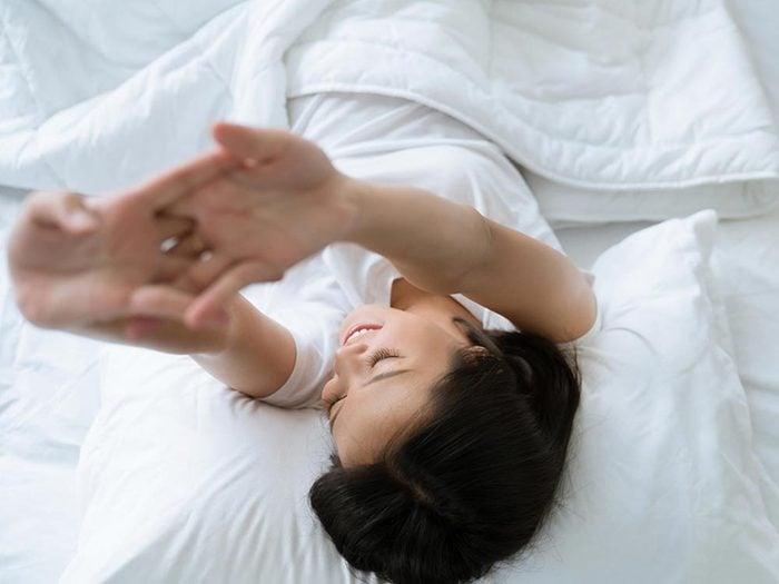 Ce qui peut vous vieillir: ne pas dormir assez.