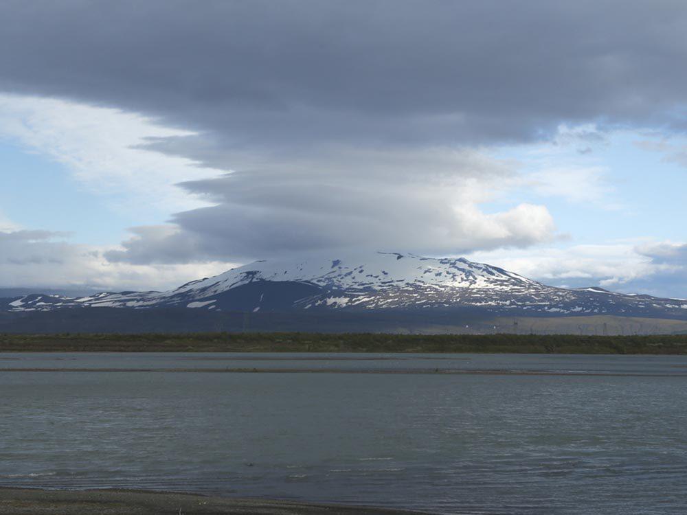 L'Islande est réputée pour ses volcans en activité.