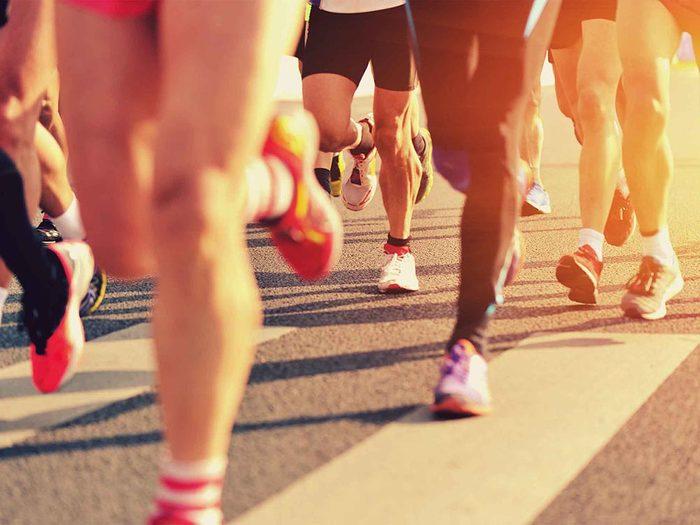 Pour un week-end réparateur, inscrivez-vous à un maraton