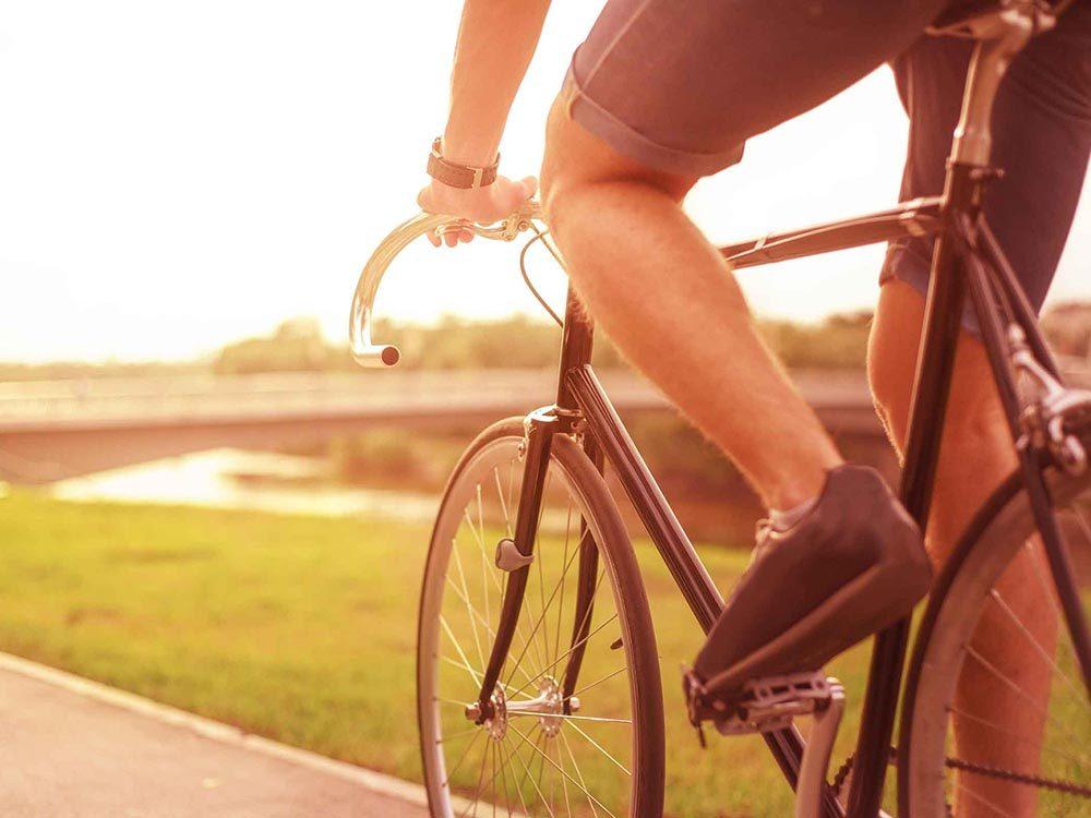 Pour un week-end réparateur, faites un grand tour de vélo.