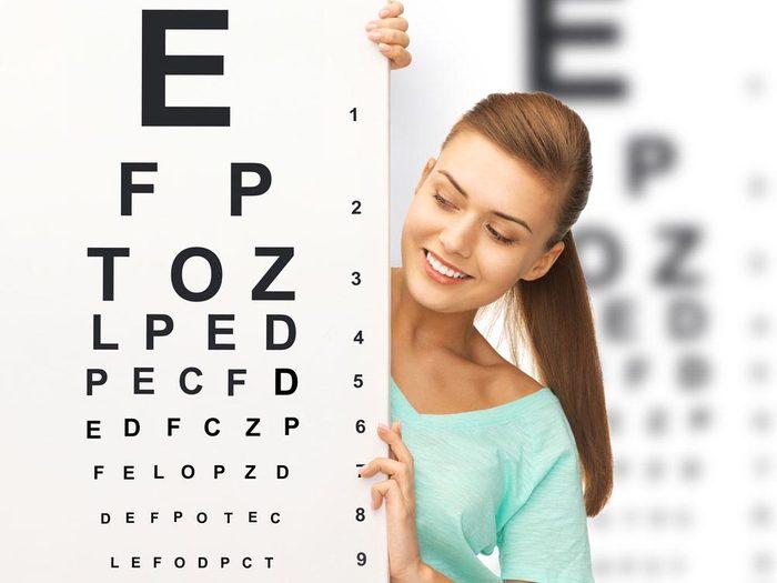 Il est important de se faire examiner les yeux fréquemment.