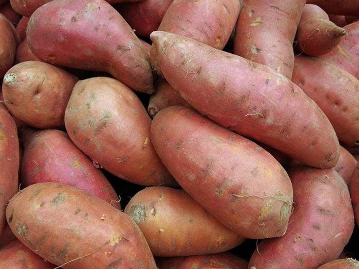La patate douce est un aliment santé dont il ne faut pas abuser.