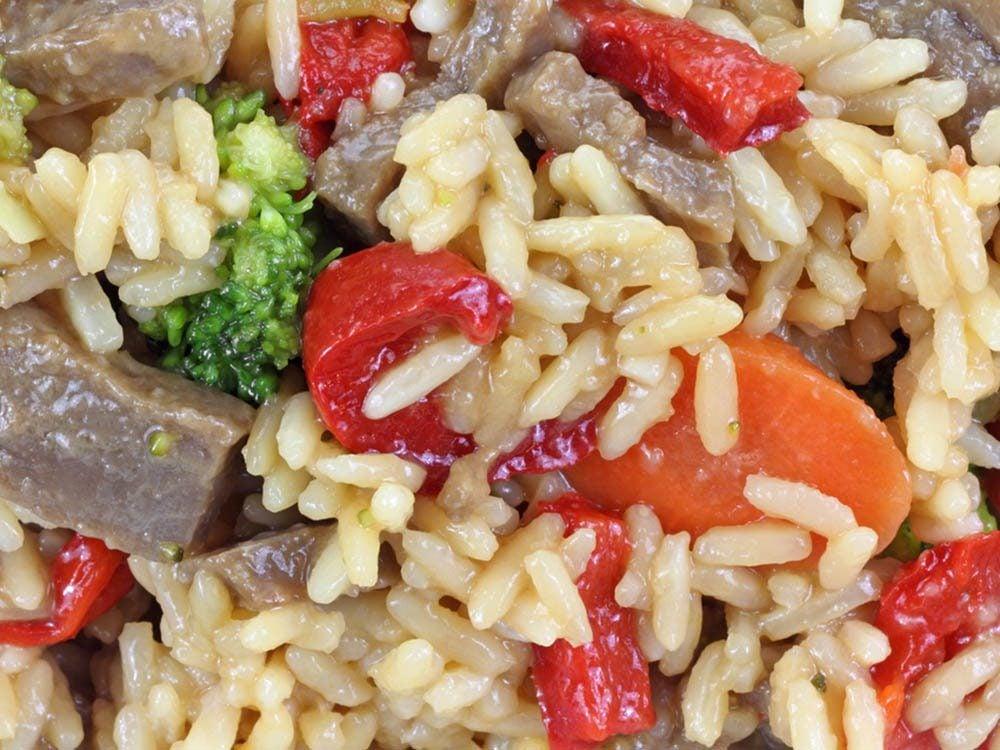 Aliment santé: mangez des repas de régime congelés en petite quantité seulement.