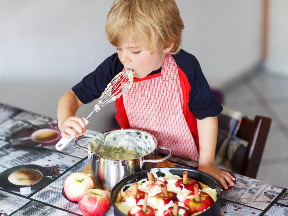 Profitez de l'automne pour cuisiner.