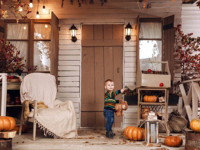 En automne, votre facture d'électricité baisse.