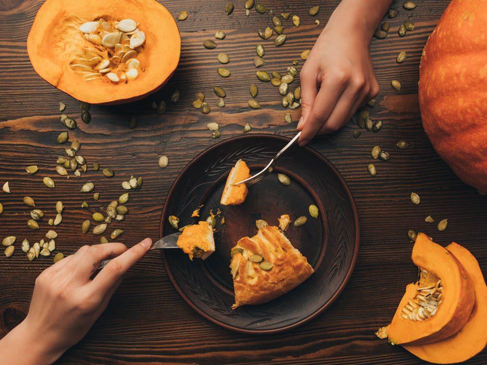 En automne, mettez des épices dans tous vos plats.