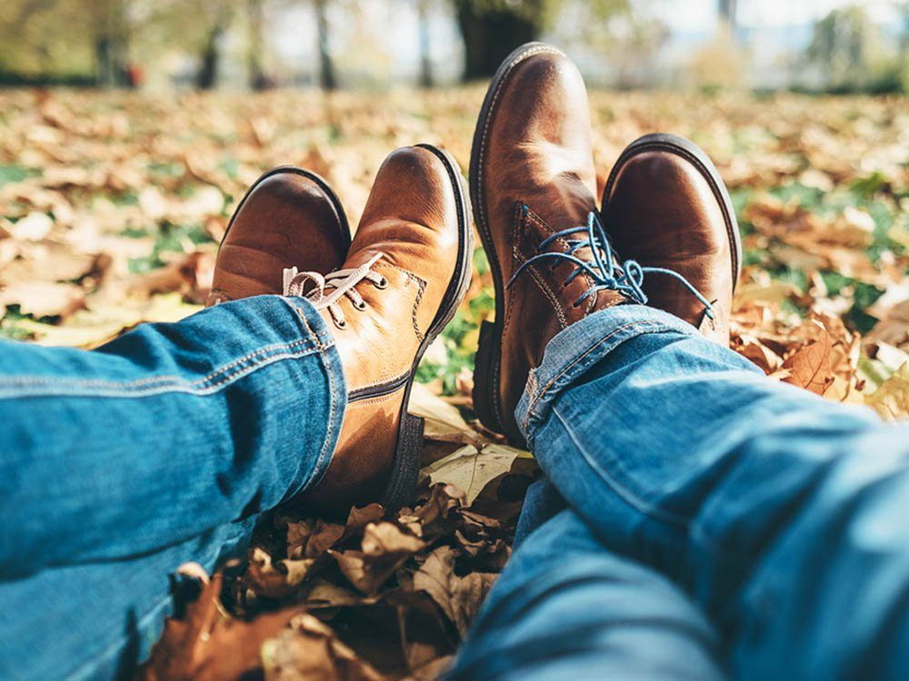 En automne, vous n'avez plus besoin de vous épiler.