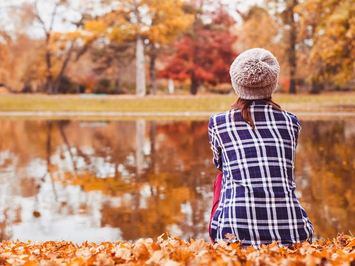 L'automne est la saison des couleurs.