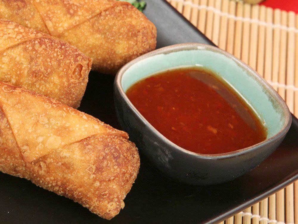 Remplacez les condiments comme la sauce «duck» par un aliment plus sain.