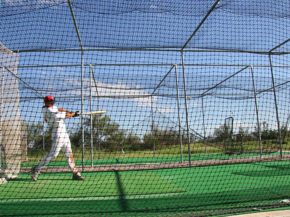 La cage des frappeurs est un excellent entraînement pour le haut du corps.
