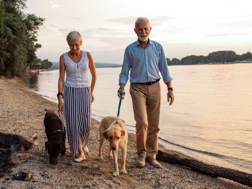 La marche est un excellent entraînement quelque soit votre âge.