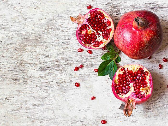 Fruits et légumes: cet automne, mangez des pomme-grenades.