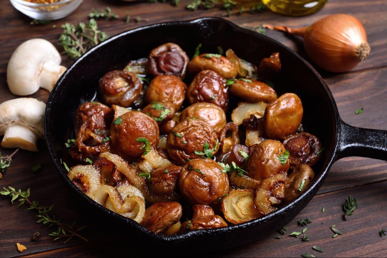 Fruits et légumes meilleurs en automne: les champignons.
