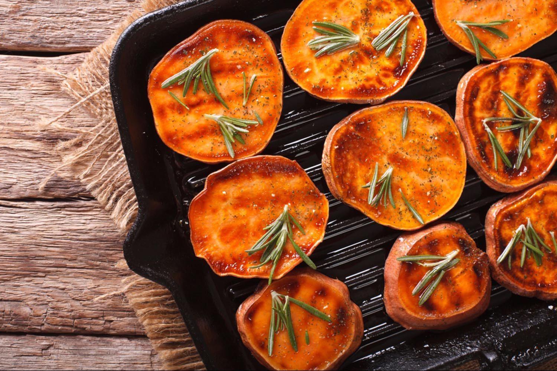 Fruits et légumes: la patate douce est meilleure en automne.