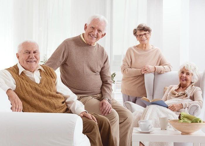 Demandez à vos grands-parents qui sont leurs meilleurs amis.