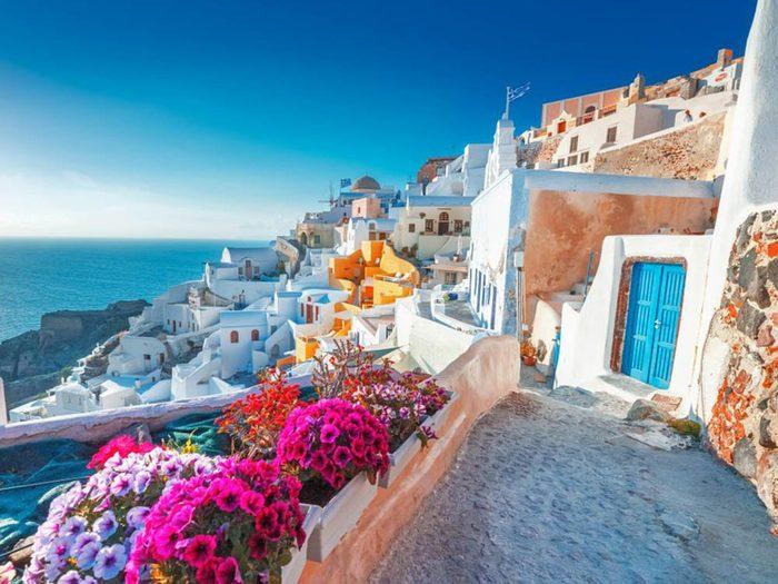L'heure du dîner est particulièrement longue en Grèce.